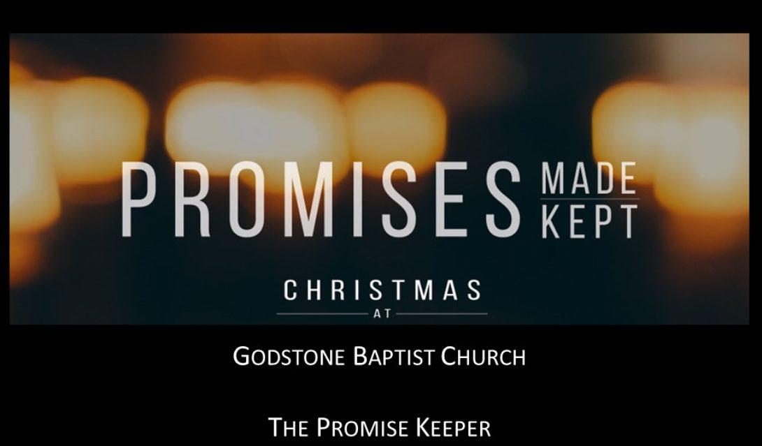 Sermons – Godstone Baptist Church