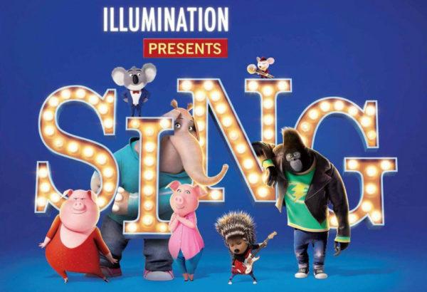 sing film advert 30th september