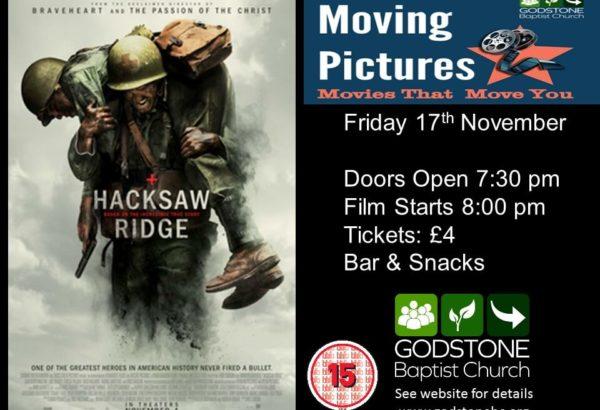 Advert - Hacksaw Ridge - GBC November 2017