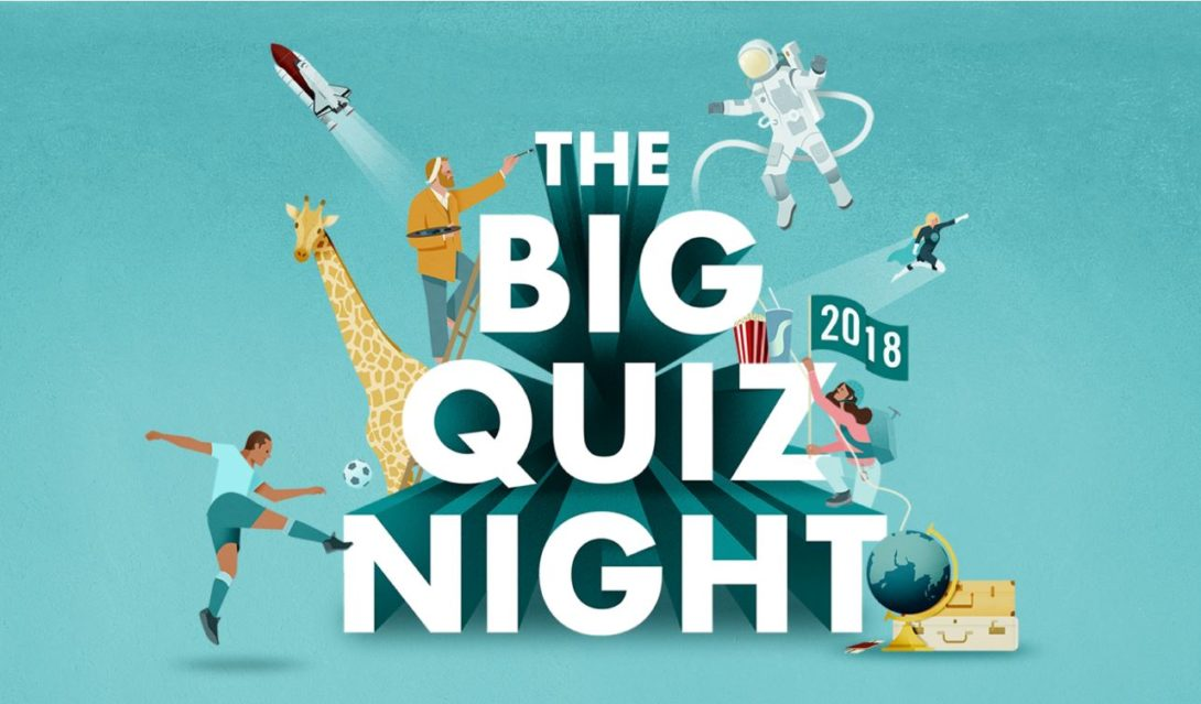 Big Quiz Night - 17th October 2018 @ GBC