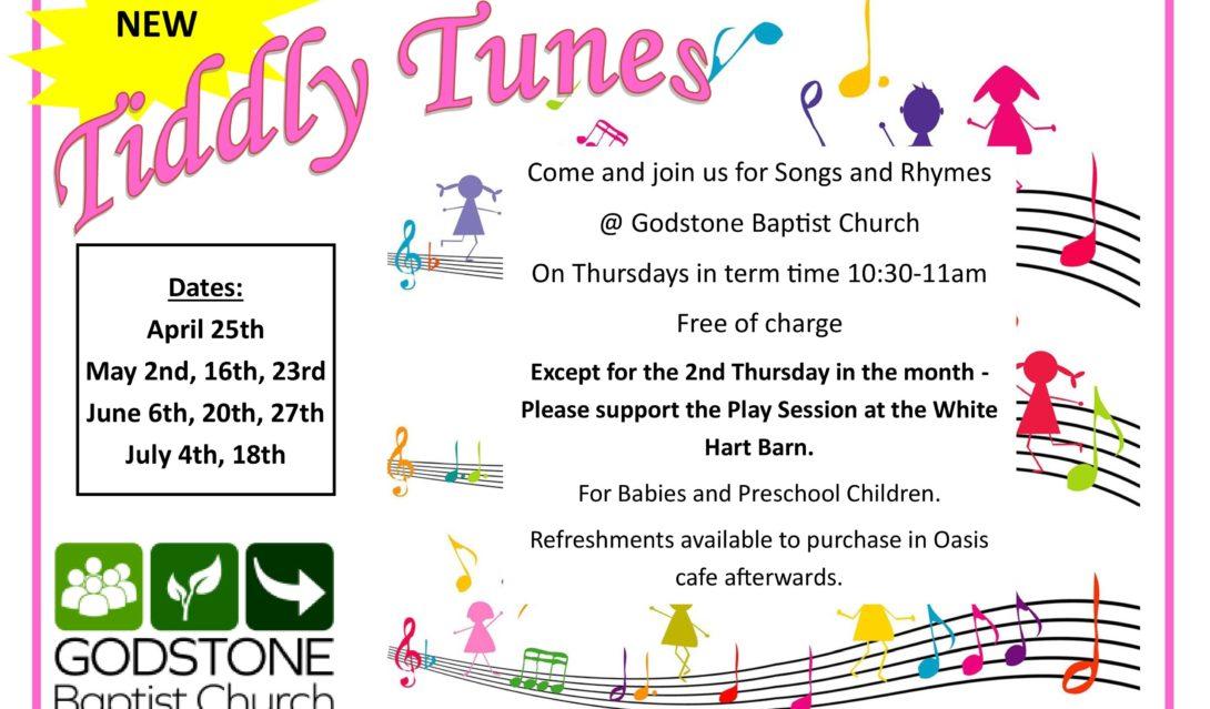 Tiddly Tunes - Godstone Baptist Church