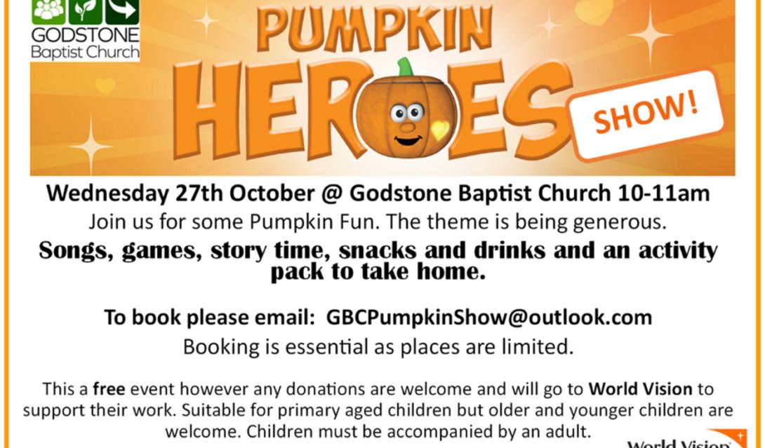 Pumpkin Heroes - 27th Oct 2021 - GBC
